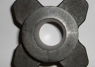 4 Tooth UHMW Drag return roller/sprocket
