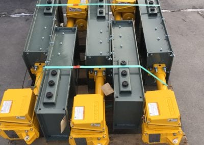 slide gates with Andco actuators